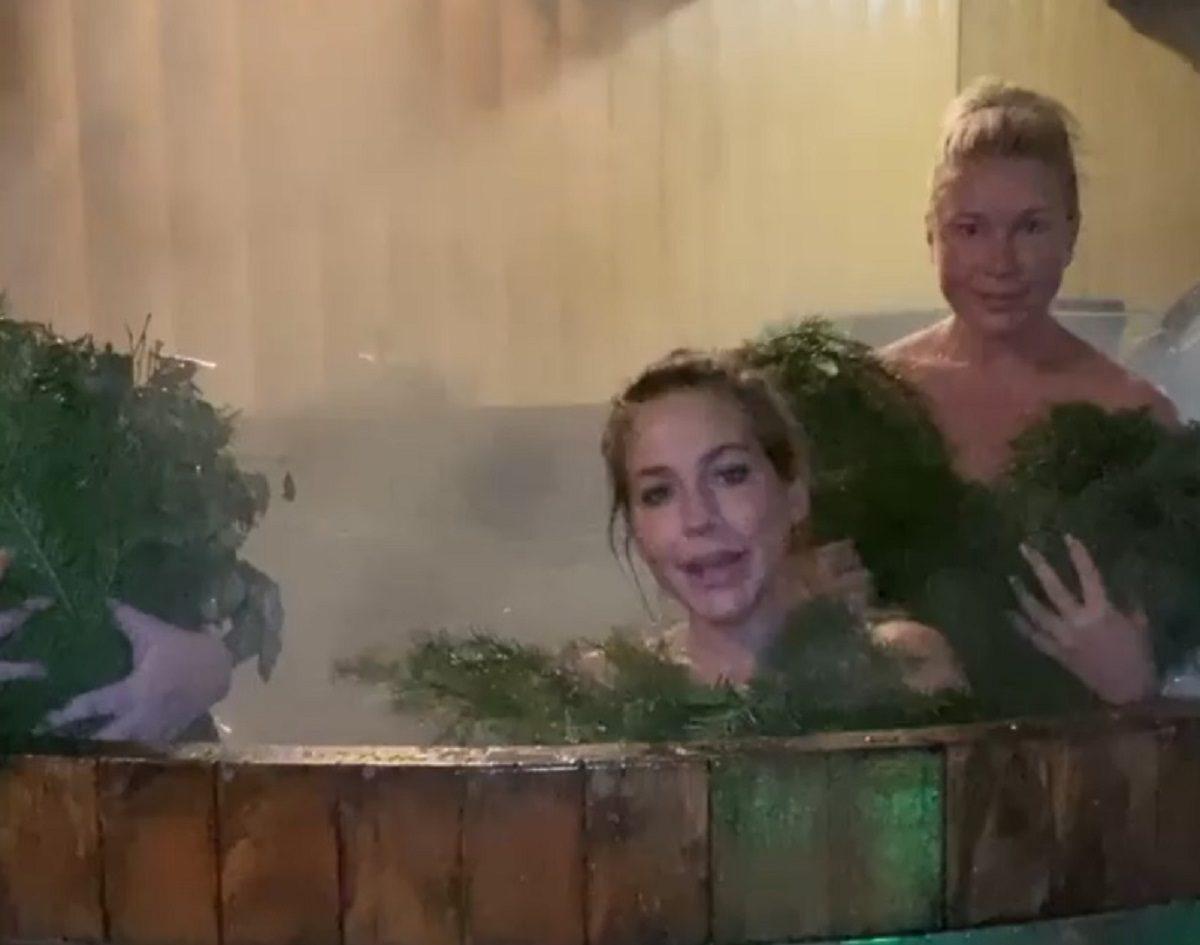 «Только для друзей»: Екатерина Одинцова опубликовала пикантное видео из бани