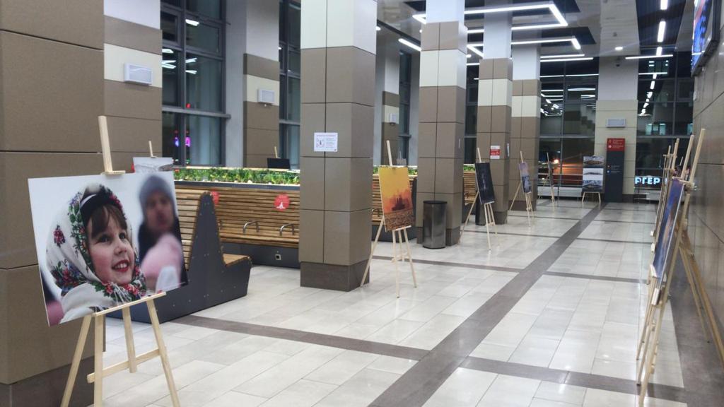 На нижегородском железнодорожном вокзале открылась фотовыставка «Россия. Полёт через века»