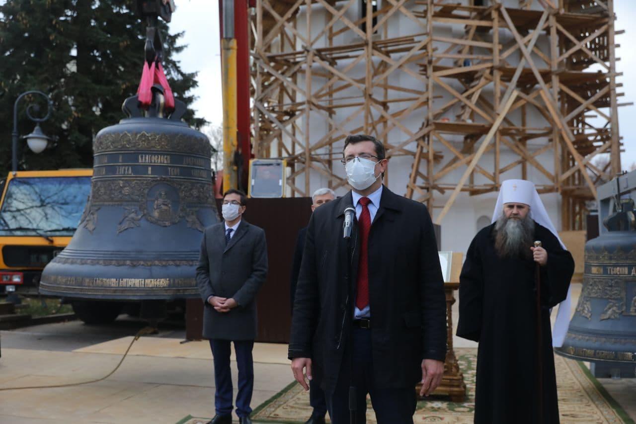 Глеб Никитин грамота колокольня Спасо-Преображенский собор