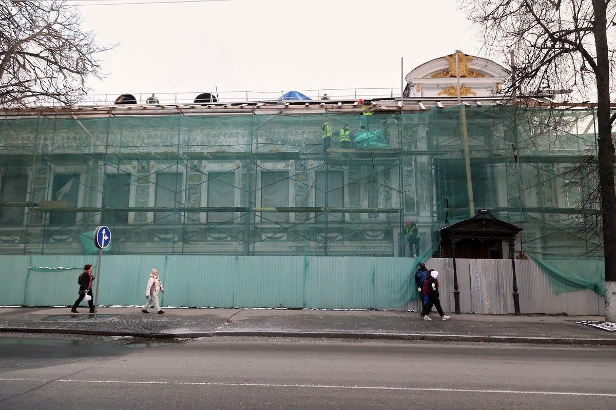 Литературный музей имени Горького будут восстанавливать в несколько этапов