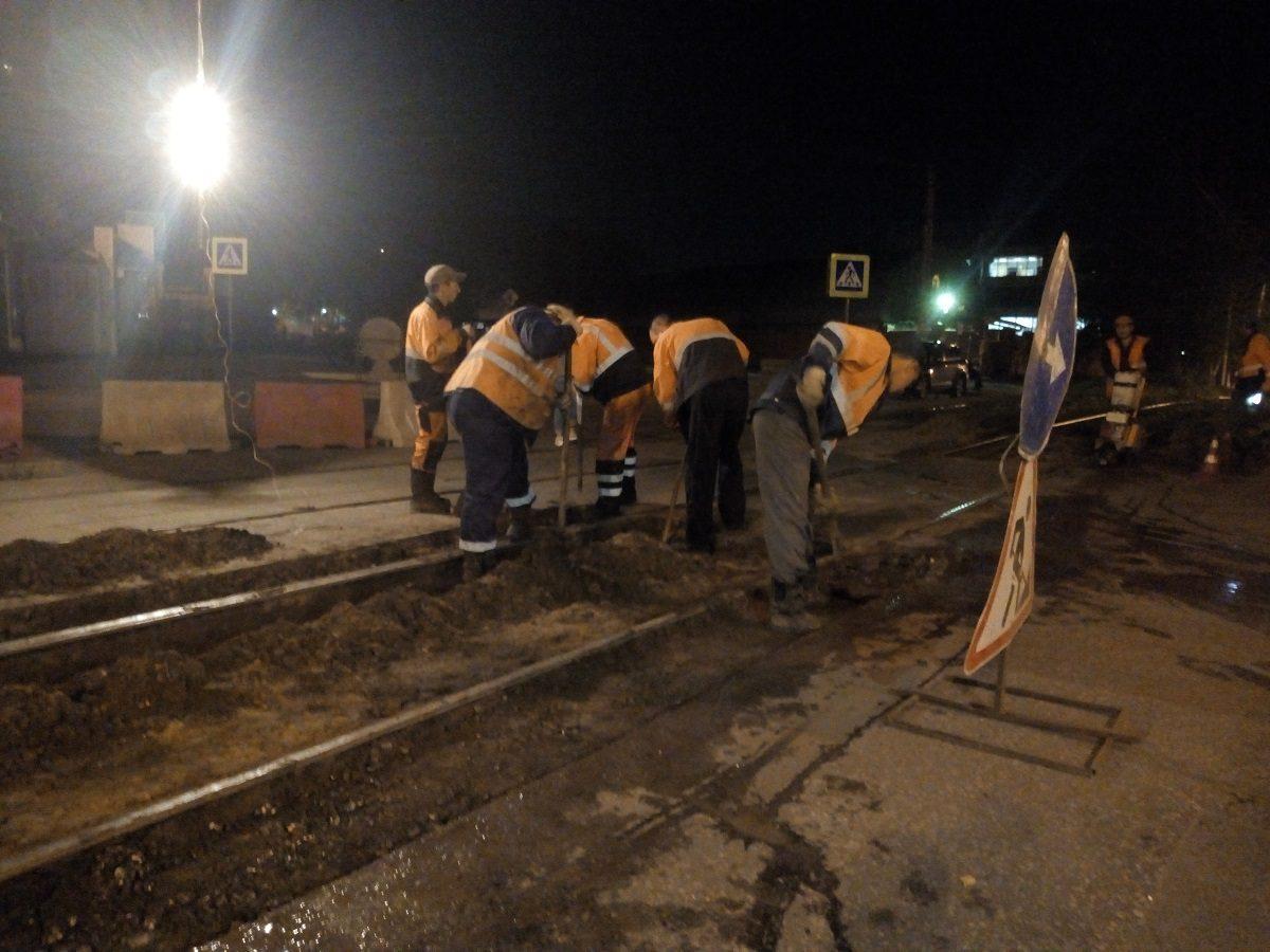 В Нижнем Новгороде отремонтировали 180 км трамвайных путей в этом году
