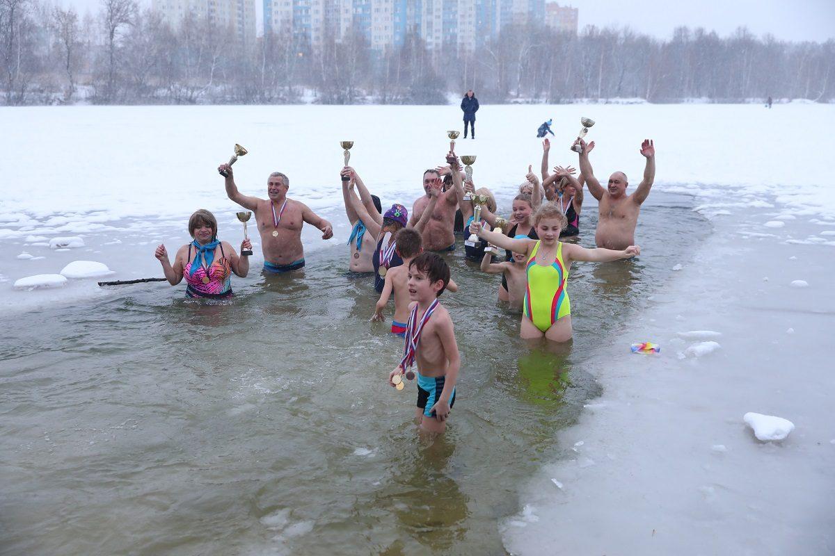 Нижегородские моржи отпразднуют 8 Марта пробежкой на берегу озера