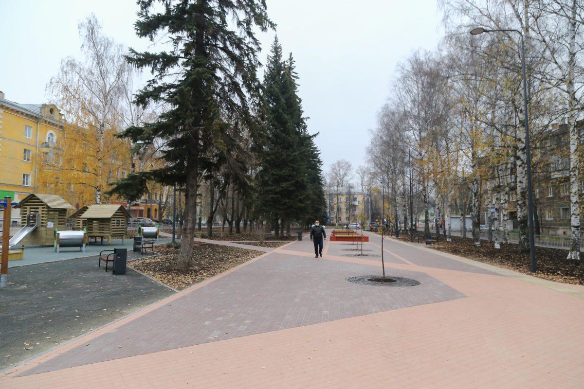 Сквер Целинников торжественно открыли в Московском районе Нижнего Новгорода