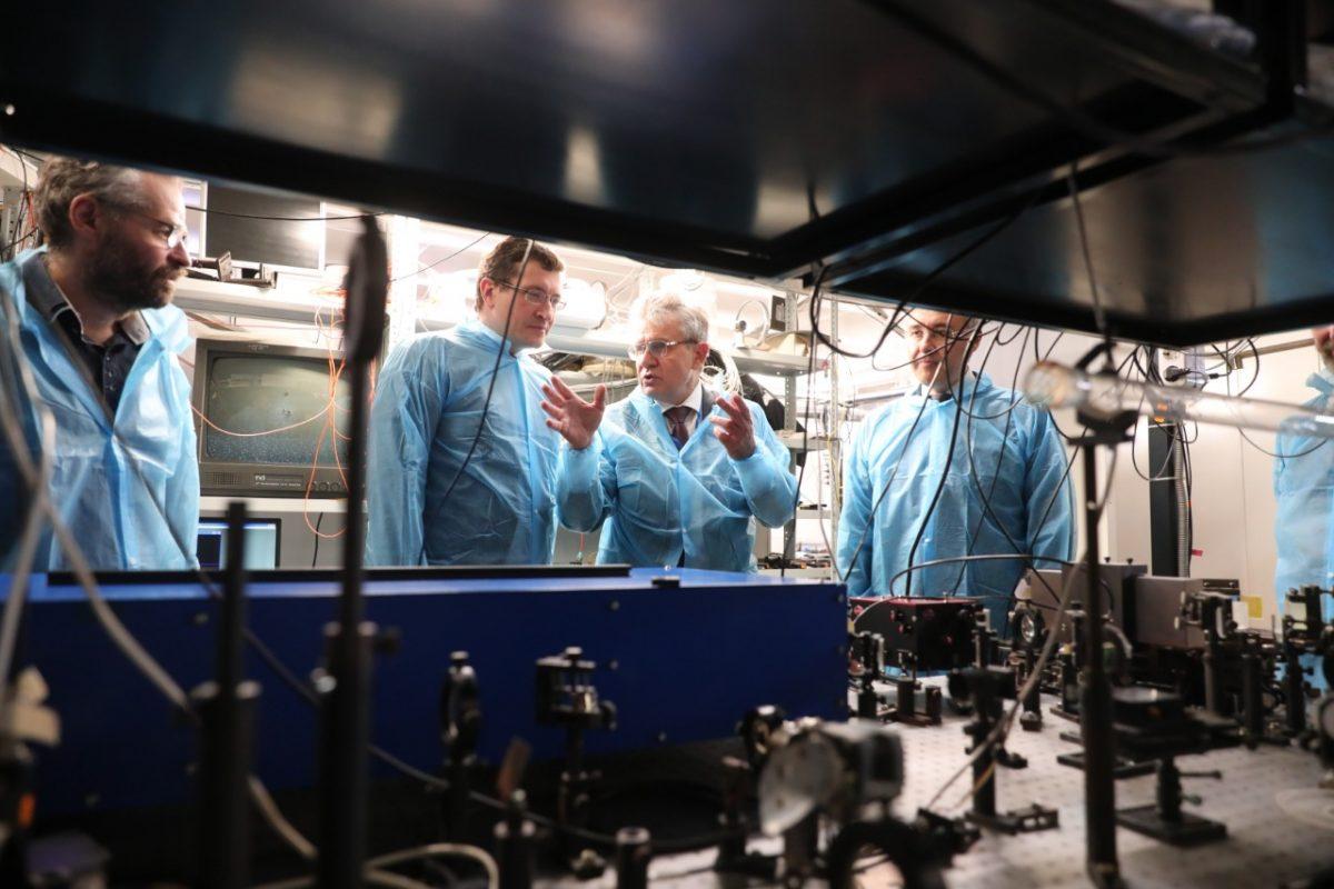 Валерий Фальков и Глеб Никитин обсудили перспективы развития Института прикладной физики РАН