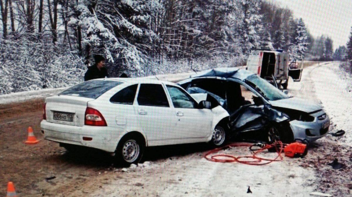 В страшном ДТП в Уренском районе погиб один человек и трое пострадали