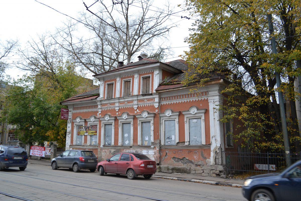 В Нижнем Новгороде отказались от строительства пятиэтажки на месте усадьбы Бурмистровых