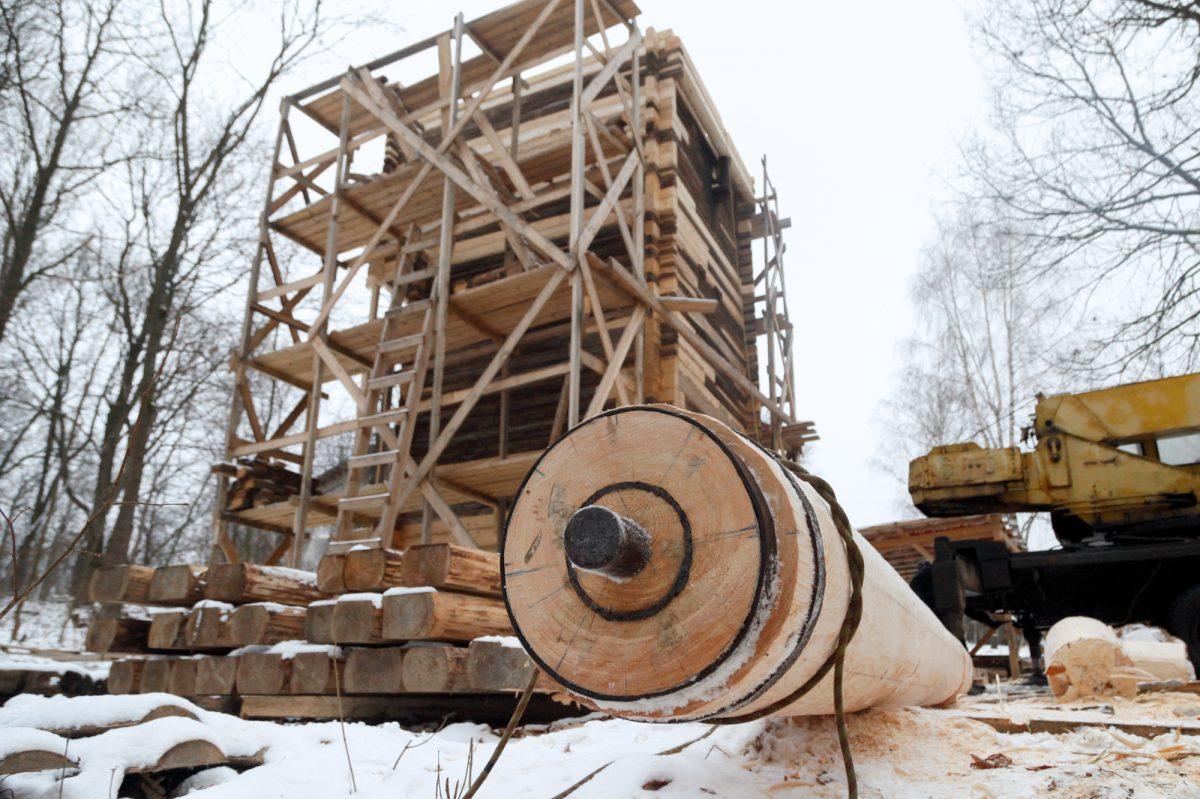 Уникальную мельницу реставрируют на Щелковском хуторе