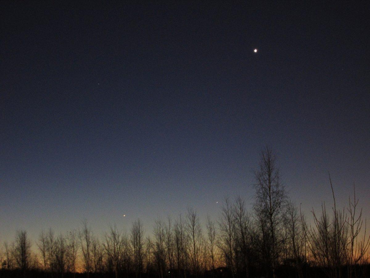 Нижегородцы увидят Меркурий на рассвете