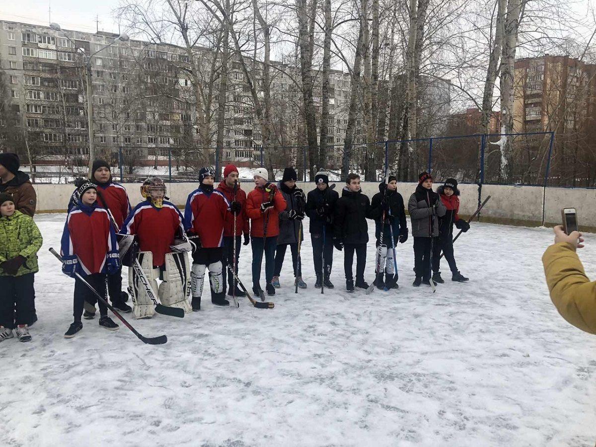 Нижегородские школьники сыграют в хоккей в валенках