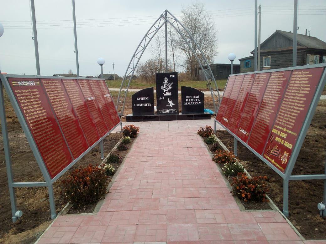 Аллея памяти появилась вШарангском районе поинициативе жителей