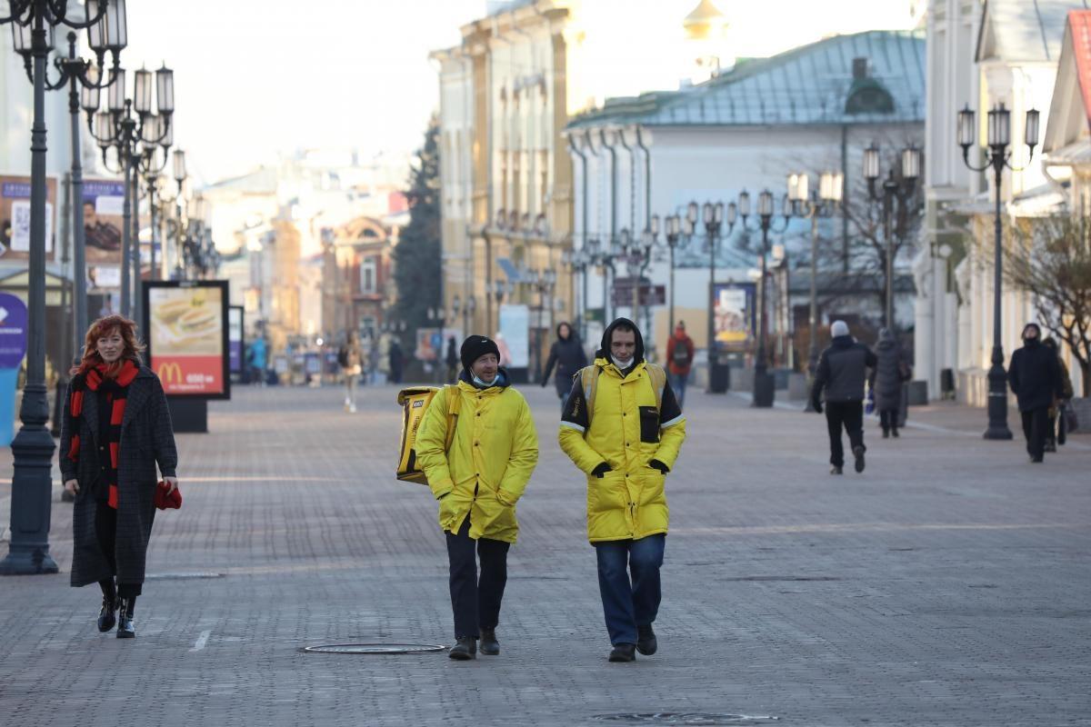 Спрос на курьеров на нижегородском рынке труда вырос на 180%