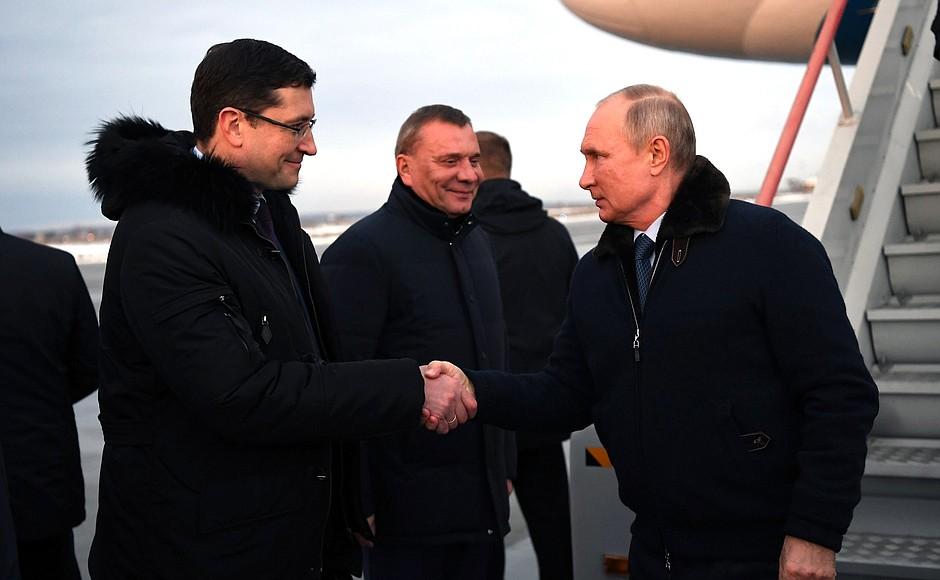 Основные итоги визита Владимира Путина в Нижегородскую область