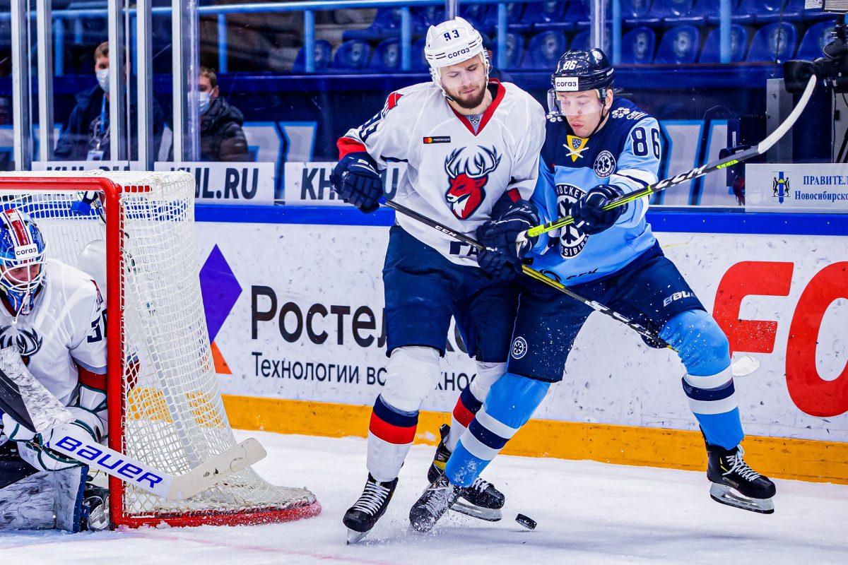 ХК «Торпедо» проиграл в Новосибирске и покинул зону плей-офф