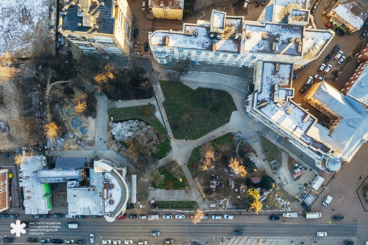 Благоустройство площади Маркина, сквера им. Свердлова и площади перед канатной дорогой завершится в ноябре