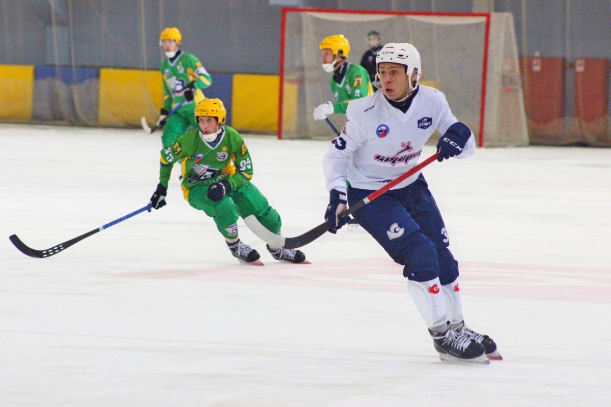 Хоккеисты «Старта» сыграли вничью с «Водником» настарте чемпионата России