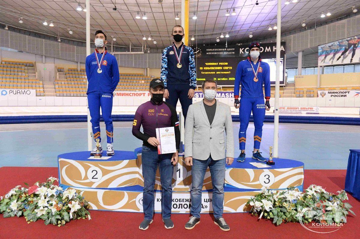Нижегородские конькобежцы завоевали два золота, серебро и бронзу в третий день чемпионата России