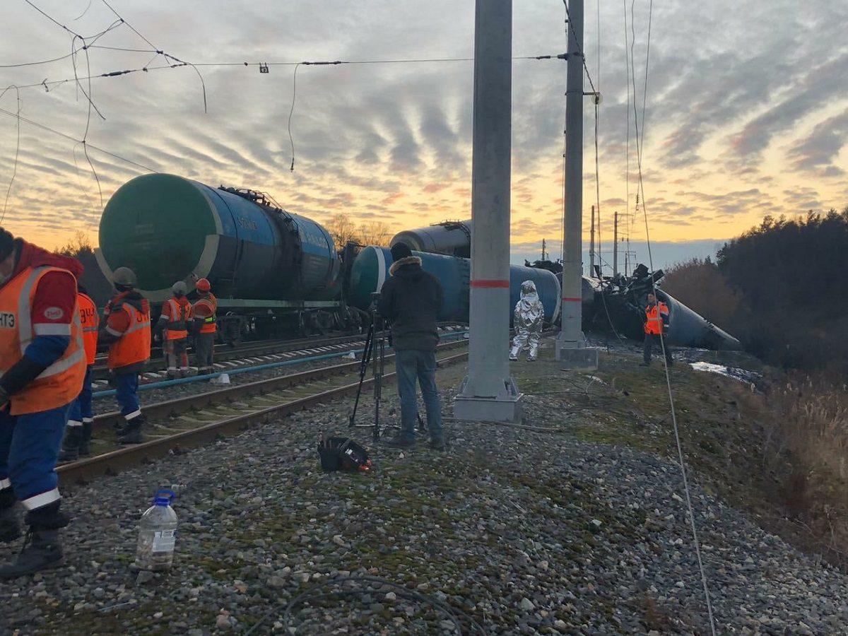 Следователи нашли виновных в сходе поезда под Владимиром
