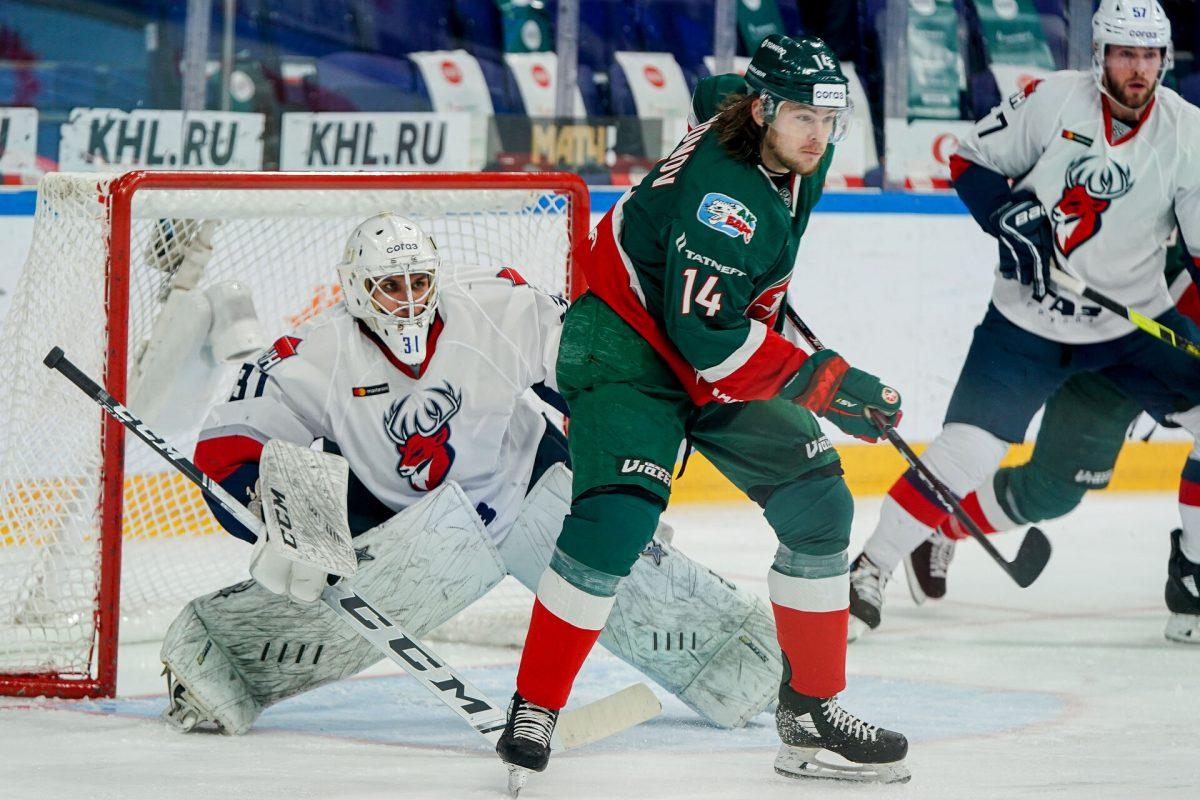 Хоккеисты нижегородского «Торпедо» в огненном матче уступили в Казани