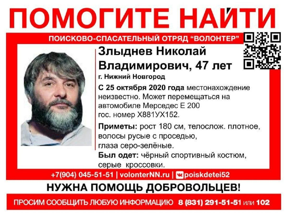 47-летний мужчина на элитном авто пропал в Нижнем Новгороде