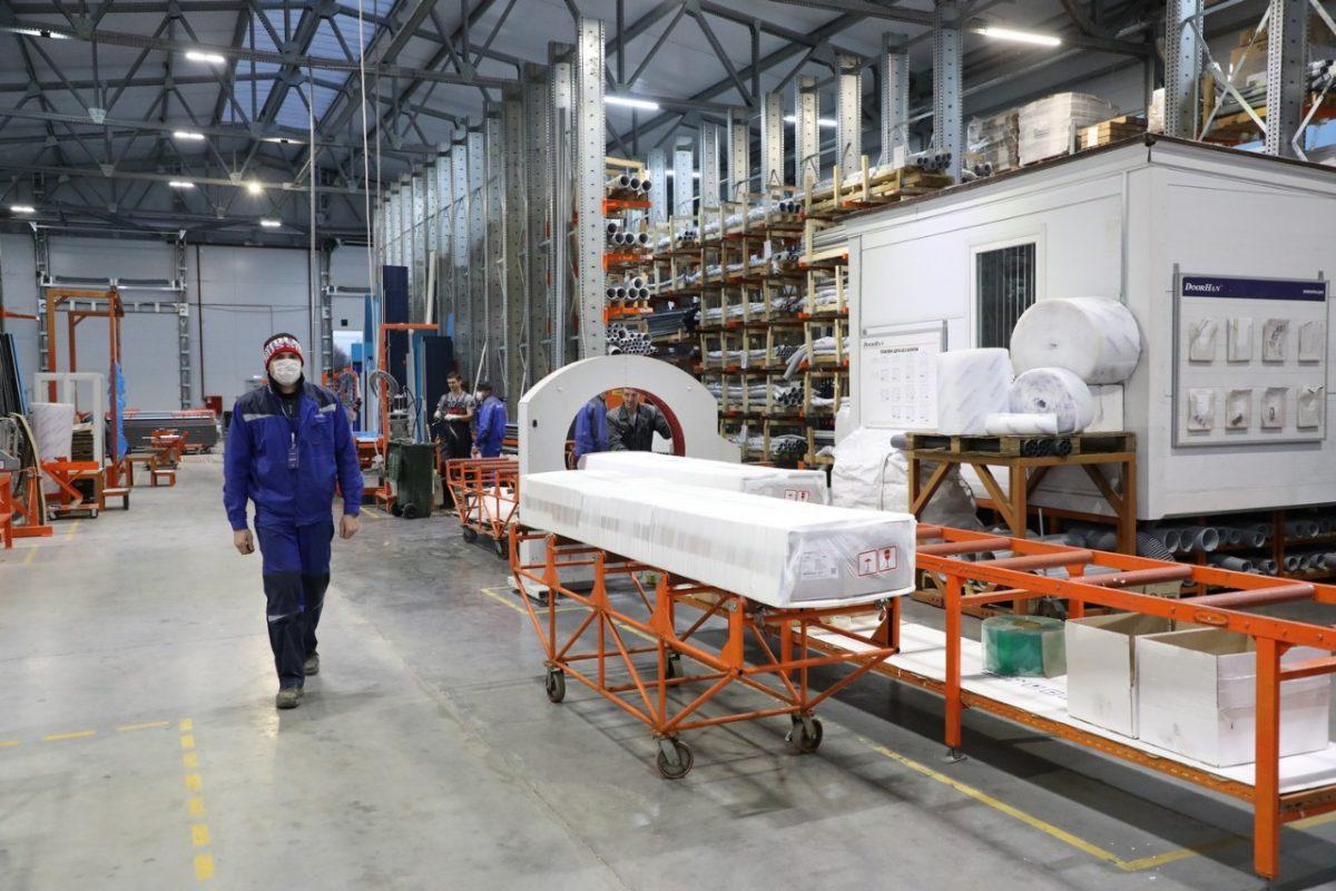 Новый комплекс попроизводству металлоконструкций открылся вНижегородской области