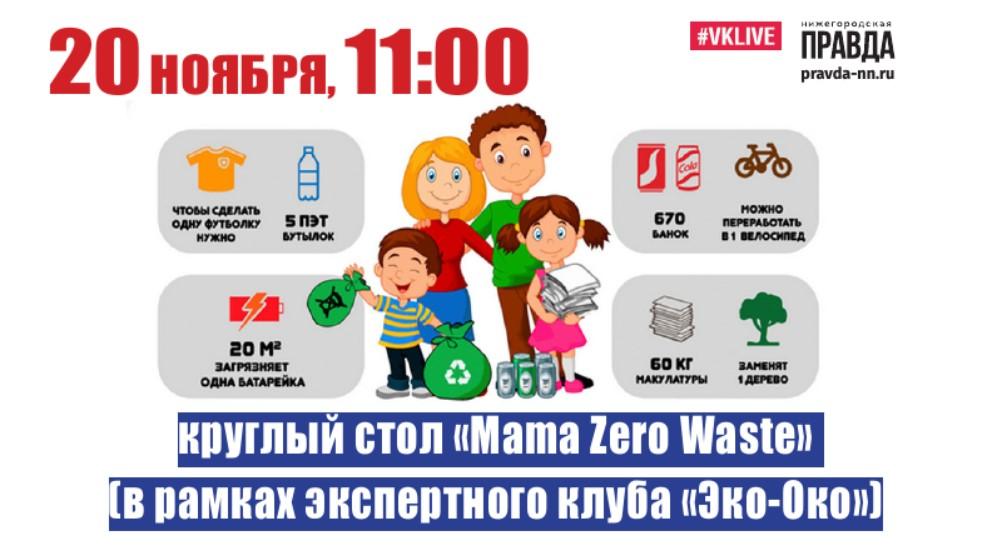 Нижегородские мамочки расскажут на круглом столе о переработке отходов