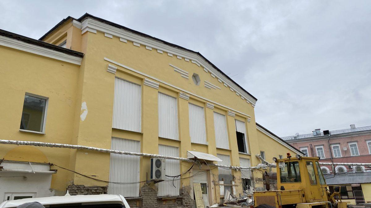 Торговый центр на Мытном рынке будут проектировать еще год