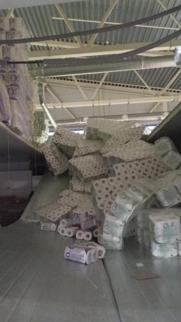 4 человека пострадали из-за обрушения стеллажа в магазине в Дзержинске