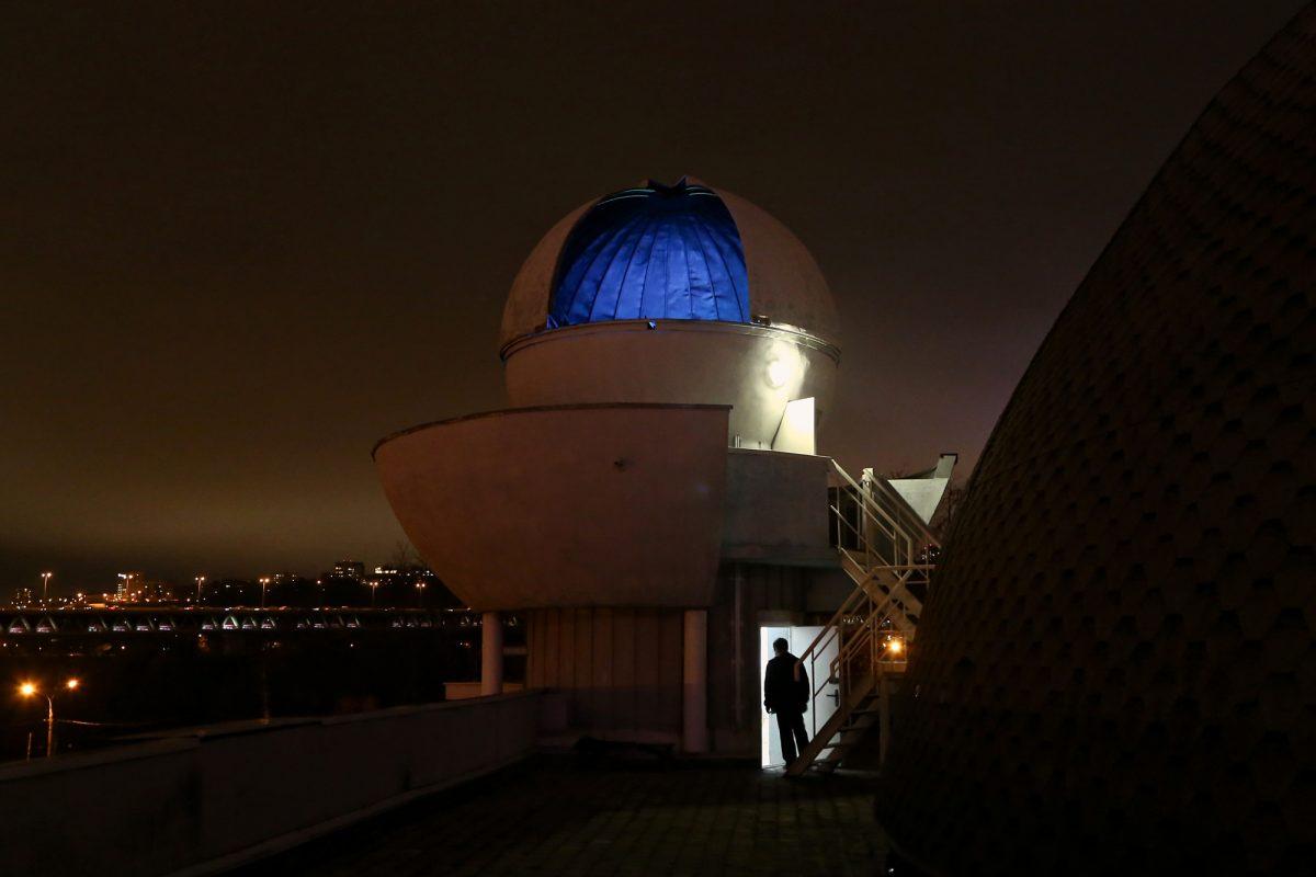 Фото дня: астрологическая обсерватория в нижегородском планетарии открылась после годового ремонта