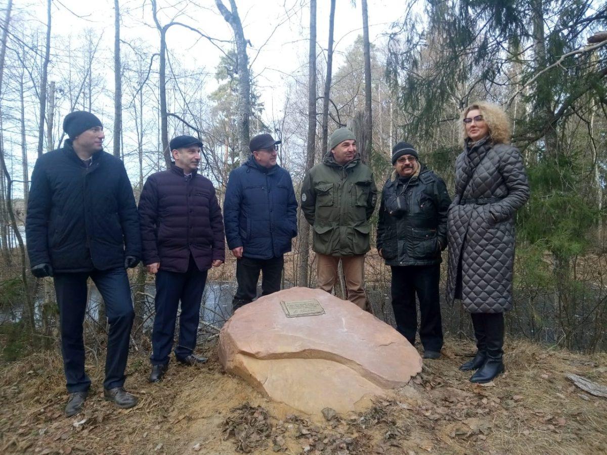 Памятный знак вчесть Владимира Короленко открыли наэкологической тропе Керженского заповедника