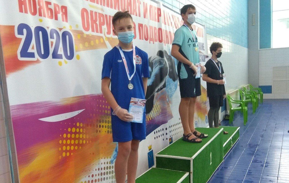 Юные нижегородские пловцы завоевали 12 медалей на чемпионате и первенстве ПФО по подводному спорту