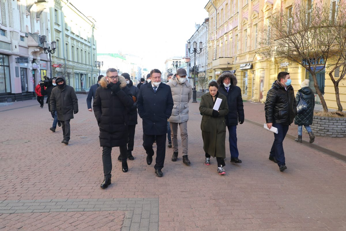 Депутаты оценили будущее благоустройство Покровки