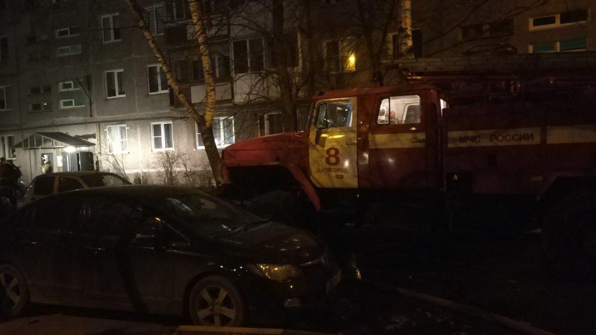Два человека погибли на пожаре в Нижнем Новгороде