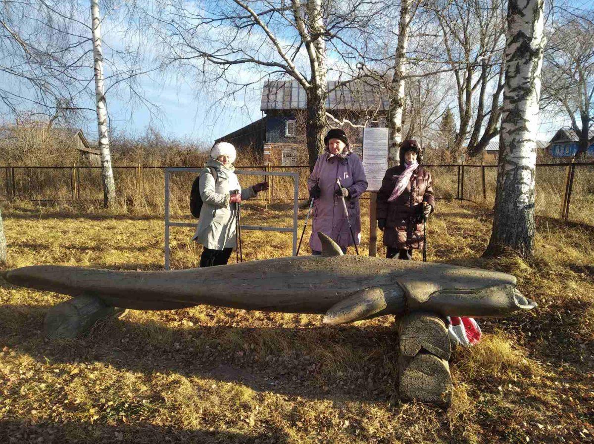 Жители старинного села Сомовка Воротынского района своими силами превращают его втуристический центр
