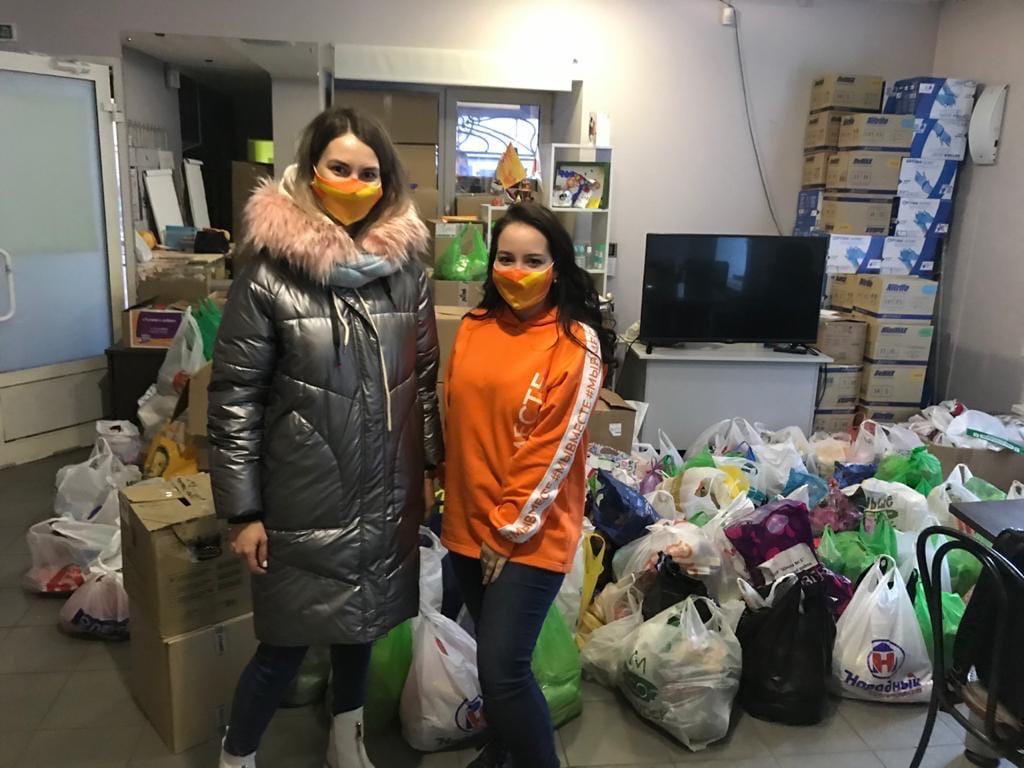Школьники собрали более 400 килограммов продуктов для нуждающихся нижегородцев