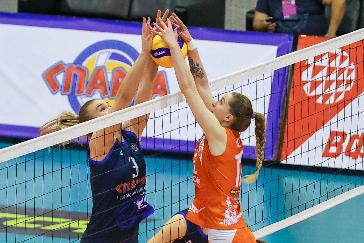 Волейболистки нижегородской «Спарты» обыграли дома «Липецк»
