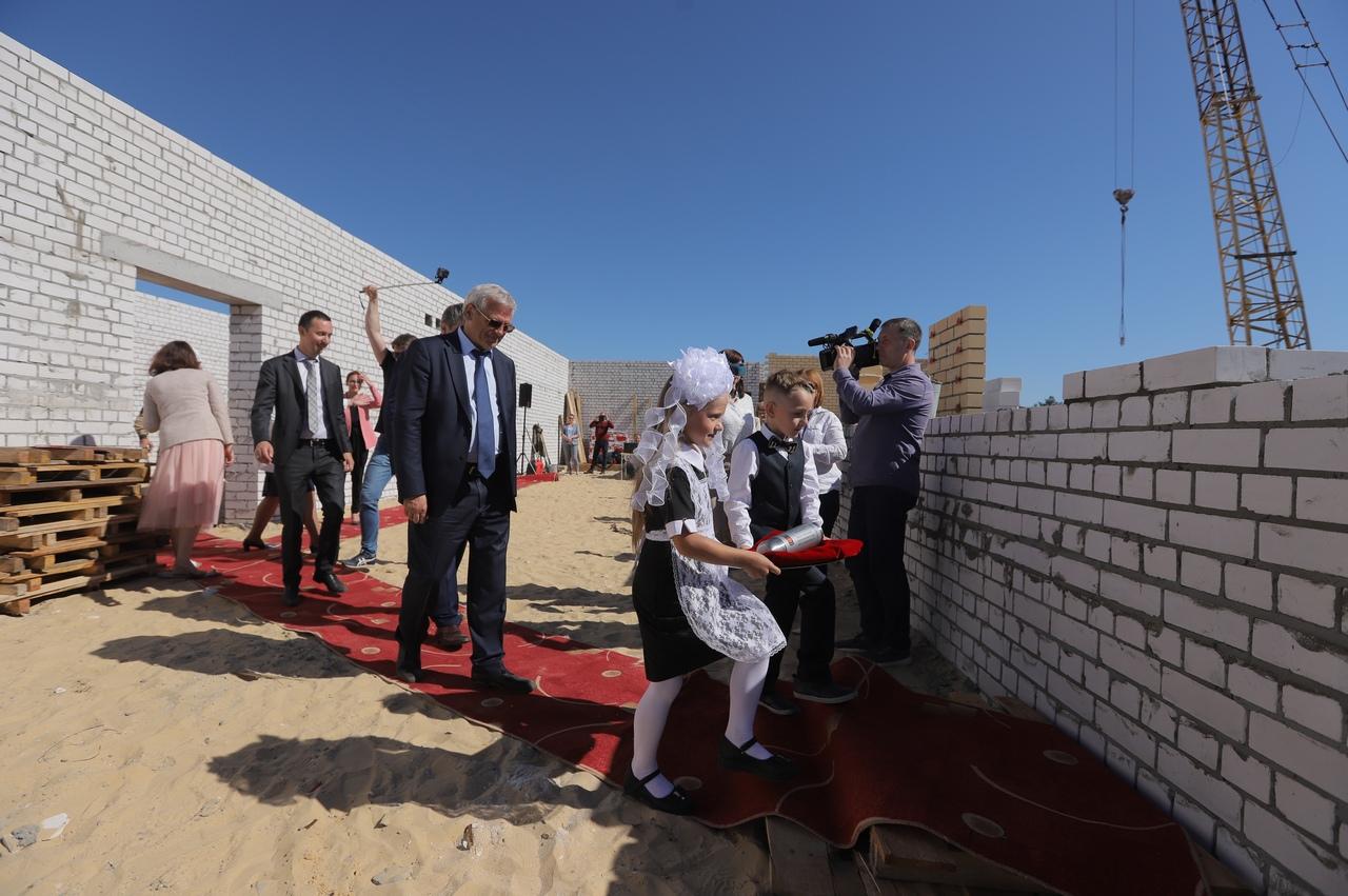 строительство школы Дзержинск