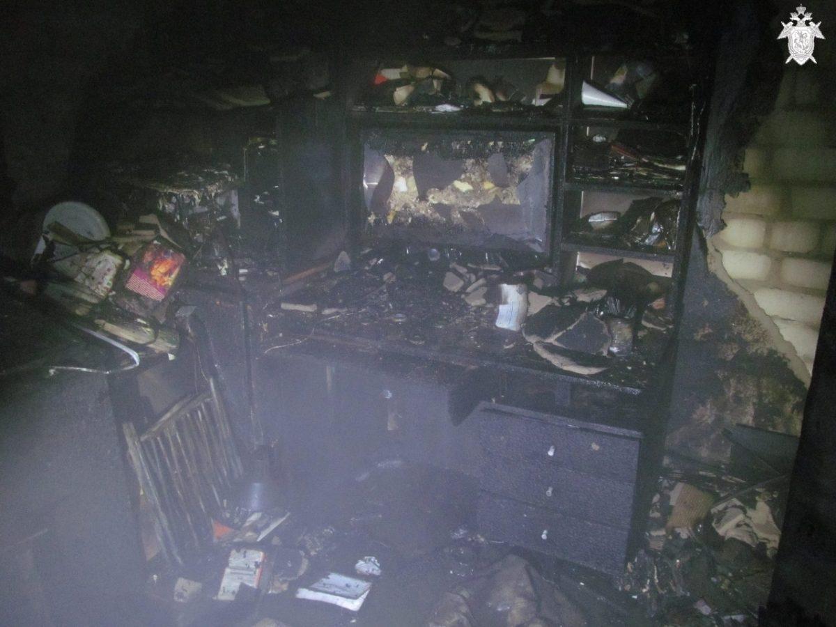 Следственный комитет возбудил уголовное дело по факту гибели двух человек на пожаре в Городце