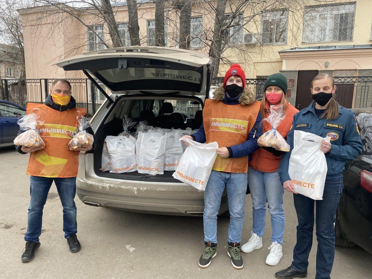 Нижегородские волонтёры #МыВместе отметили Всемирный день добра подарками для врачей, соцработников и многодетных семей