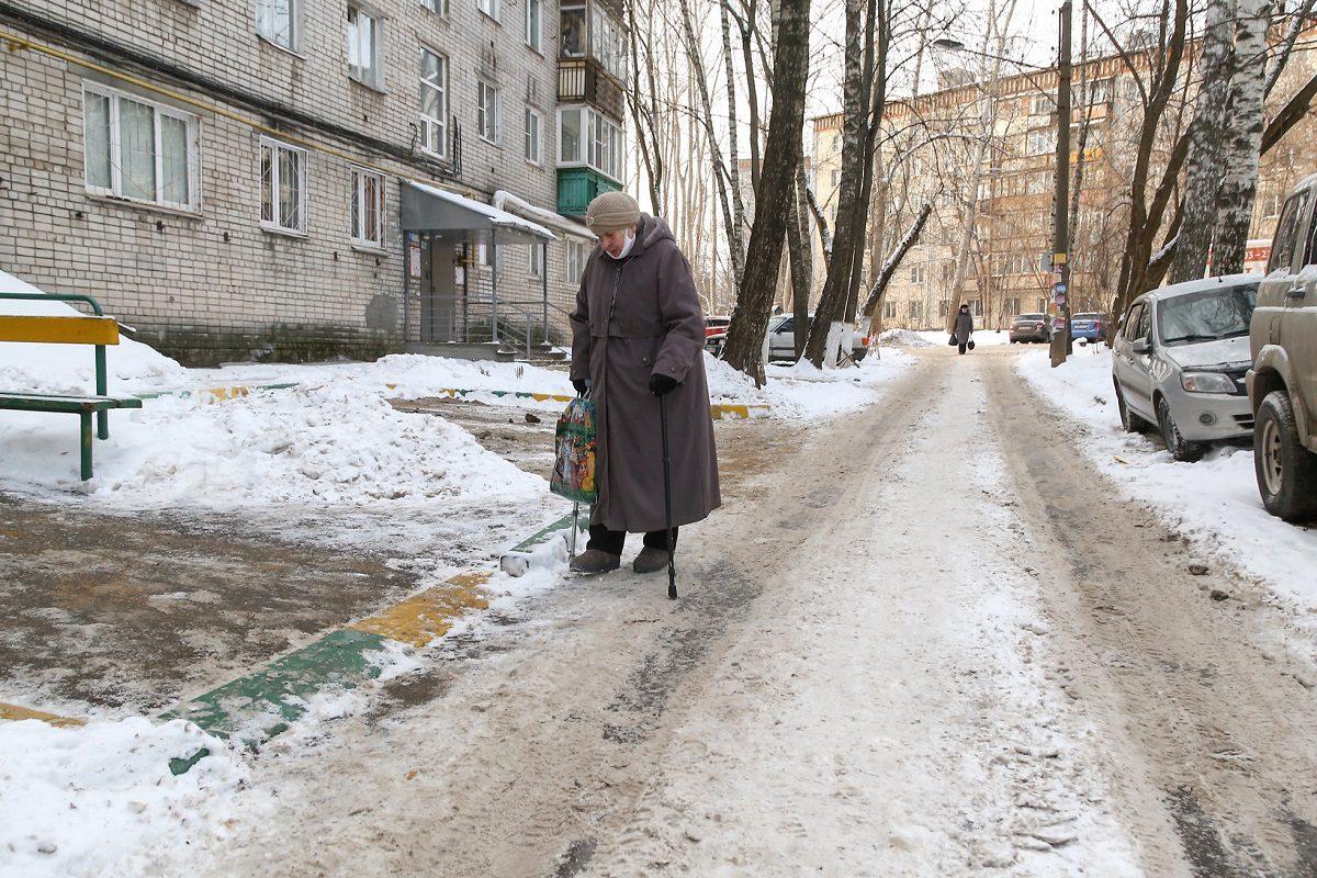 В Нижнем Новгороде начали штрафовать за неубранный снег