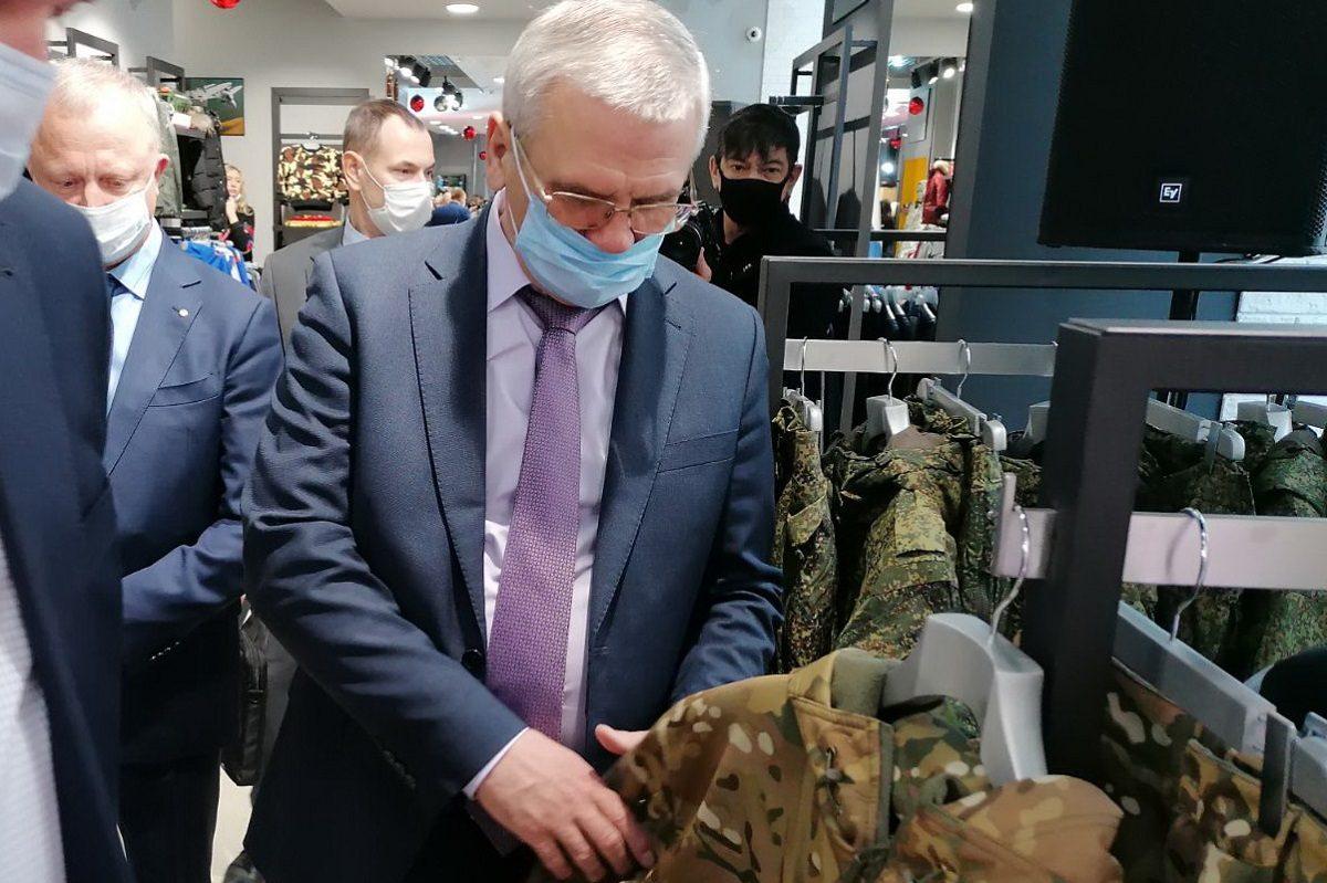 Первый фирменный магазин «Армия России» открылся в Нижнем Новгороде
