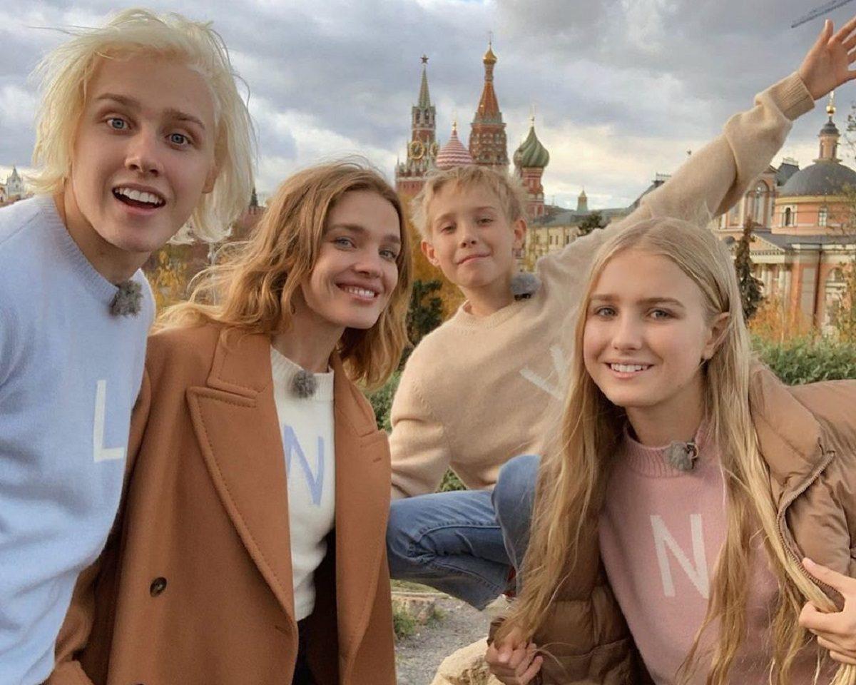 Наталья Водянова вместе с детьми будет вести тревел-шоу о России