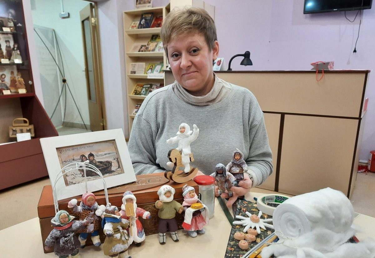 Нижегородка Анна Тимофеева рассказала, как сделать уникальные ёлочные игрушки из ваты