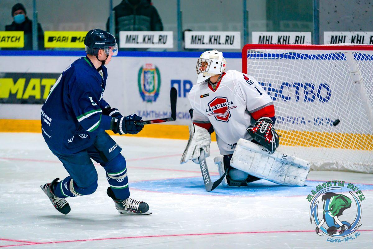 Хоккеистам нижегородской «Чайки» не удалось взять реванш