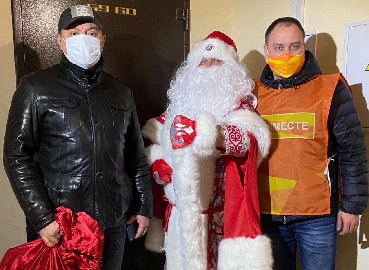 Нижегородские семьи, которые воспитывают «особенных» детей, получили подарки