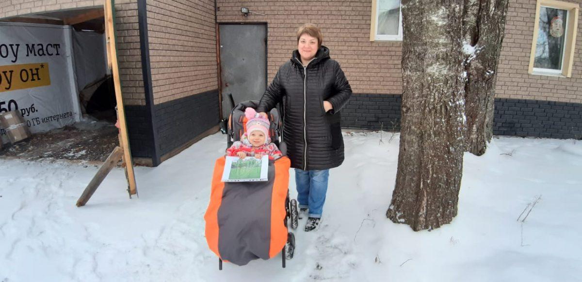 Четырехлетней девочке подарили спортивную площадку на «Елке желаний»