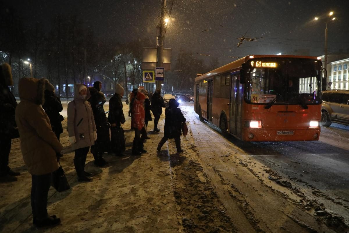 Нижний Новгород сковали восьмибалльные пробки в пятницу вечером