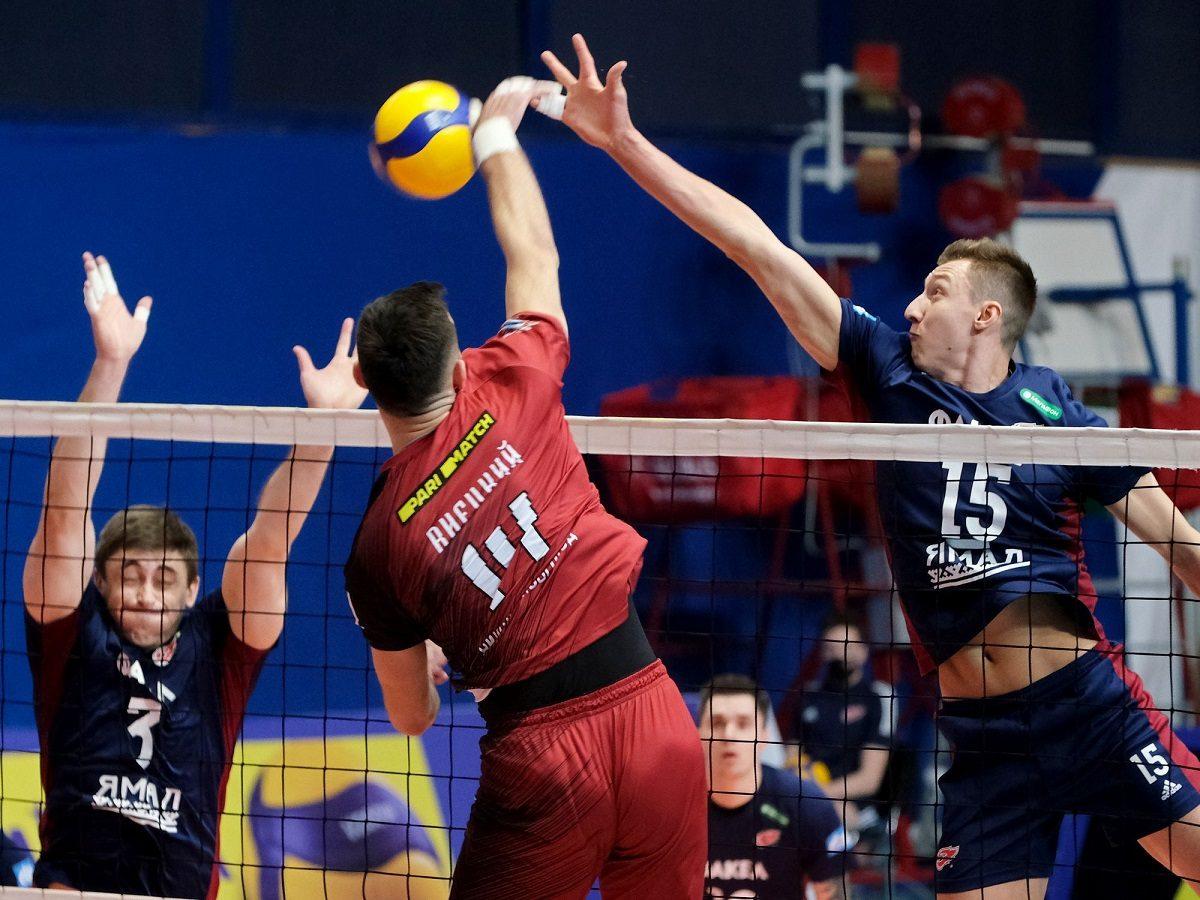 Волейболисты нижегородской АСК проиграли в перенесённом матче