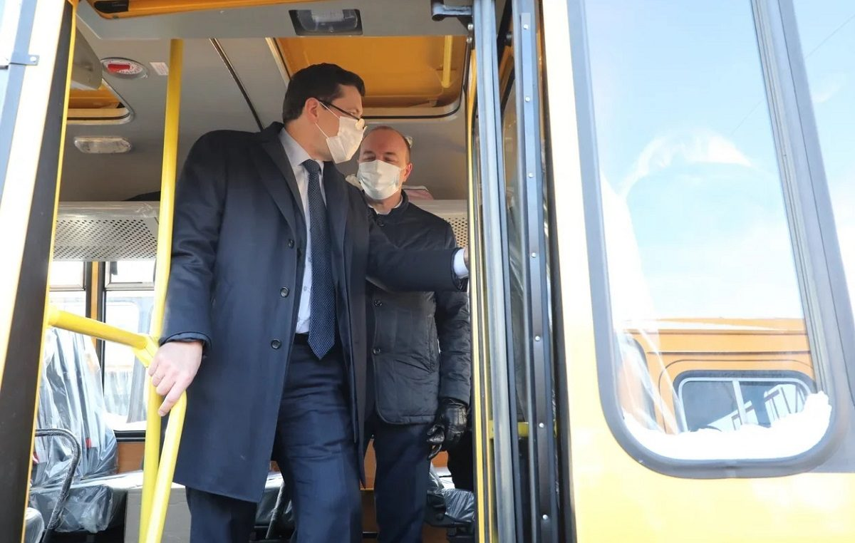 Глеб Никитин: «Новые школьные автобусы получат 50 муниципалитетов Нижегородской области»