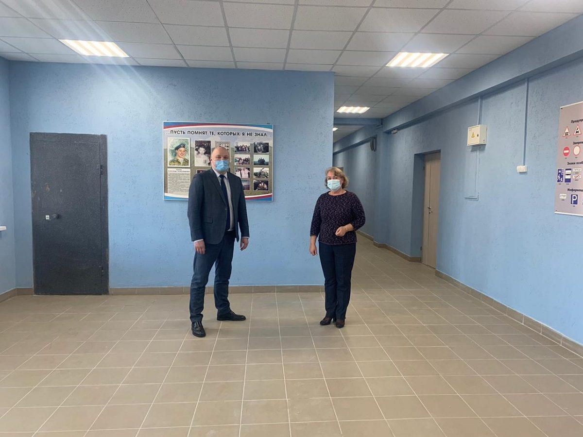 ЛУКОЙЛ помог отремонтировать лицей №7 в городе Кстово