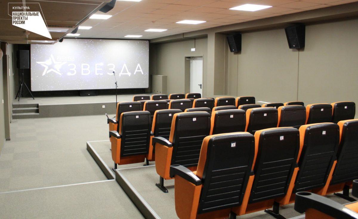 В Володарском районе в рамках нацпроекта открылся новый кинозал